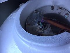 電気温水器メンテ