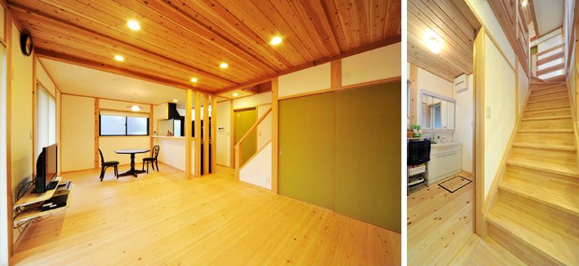 「シンプルなデザインと自然素材って、 絶妙の組み合わせですね」イメージ