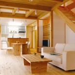 木と自然素材で作る家