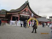 津島神社 参拝