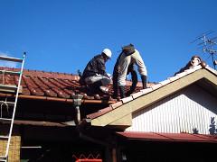 屋根補修工事 inたえまつ